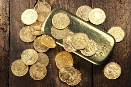 Alte Goldmünzen