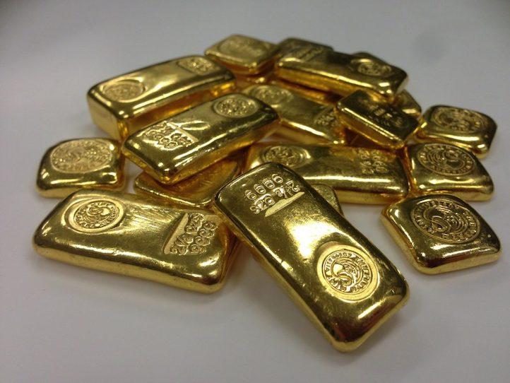 Goldbarren als Anlage