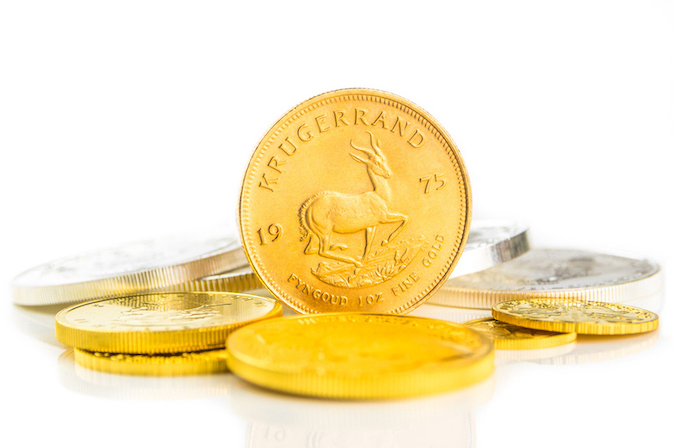Goldmünzen Krugerrand
